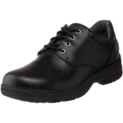 Dansko Men's Walker, Black Smooth Leather, 45 (US Men's 11.5-12) Regular