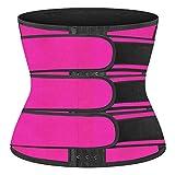 NANOOER Women Sweat Waist Trainer Corset Belt for Women, Neoprene Tummy Control Waist Shaper Cincher for Women Workout