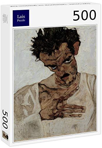 Lais Puzzle Egon Schiele - Selbstporträt mit gesenktem Kopf 500 Teile