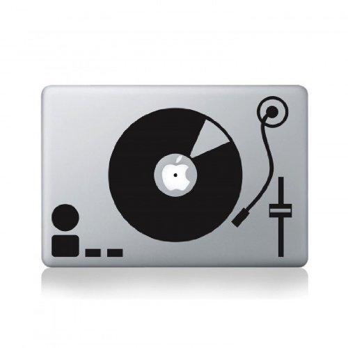 Record Turntable Macbook Pro Vinyl Decal