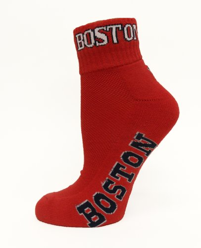 Donegal Bay MLB Boston Red Sox Quarter Sock Red