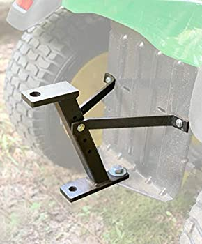 Eapele Trailer Hitch for Lawn Mower Garden Tractor Trailer Hitch Solid Iron Construction Strong Enough to Tow Everything