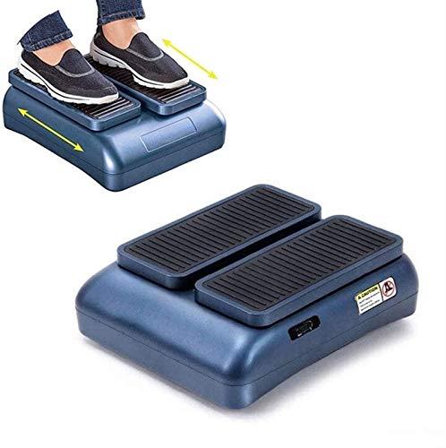 CRMY Ejercitador piernas eléctrico Sentado, máquina para Caminar Sentado, ejercitador Pedal Sentado, promueve la circulación sanguínea y Alivia los músculos de Las piernas para Personas Mayores