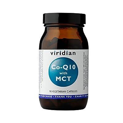 Viridian CoQ10 with MCT 30mg, 90 Vegi caps by Viridian