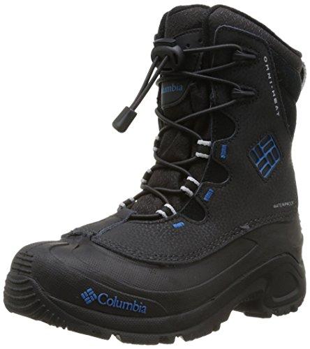 Hot Sale Columbia Bugaboot Plus IIOmni-Heat Waterproof Bungee and Toggle Winter Boot,Black/Jewel,1 M US Little Kid