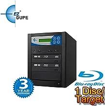 EZ DUPE Premium Multi Media Mirror Duplicator, Backup Data from CD/DVD/Blu-Ray/SD/CF/MS/MMC/USB to Disc (1 DISC/Target) (CD/DVD/Blu-Ray)