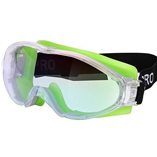 GALAX PRO Gafas de Seguridad, Gafas Protectoras de Trabajo para Protección de los Ojos, Antipolvo y Antiarañazos
