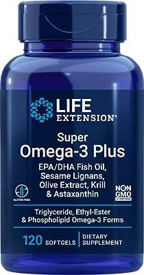 Super Omega-3 Plus 120 Softgels