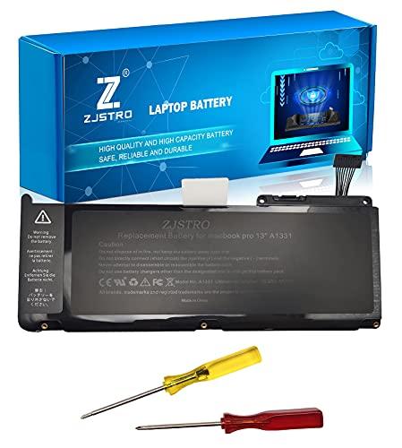 Batería de reemplazo A1331 for MacBook 13, A1331, A1342, Finales de 2009 MC207xx / A y A1342 MacBook 7.1 (Mediados de 2010) La Serie MC516xx / A reemplaza la batería [Li-Polymer 10.95 V 63.5WH]