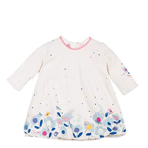 Catimini Robe boule CM30041, Bébé fille, Beige (Écru 11), 9-12 mois (Taille fabricant:9M)