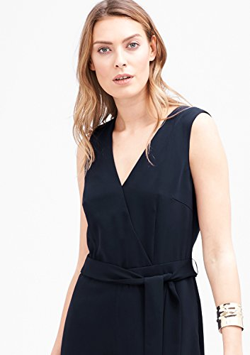 s.Oliver BLACK LABEL Damen Jumpsuit, Blau (Deep Blue) - 5