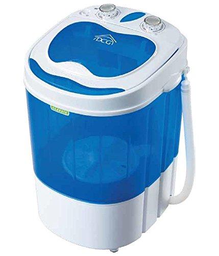 DCG Eltronic ML5950 Portatile Caricamento dall'alto 2kg Blu, Bianco lavatrice