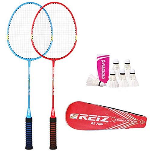 Xiaoyue 100{a0d7c1fa4ca0e20a3c51068d819429d1cf48b60e0e2898a1e2cda076b098d0a7} Vollcarbonfaser-Hochspannungs Schnur Badmintonschläger, Profi-Wettbewerb Design Welle Badmintonschläger, Leicht Graphite Einzelbadmintonschläger Badmintontasche. lalay (Color : Orange)