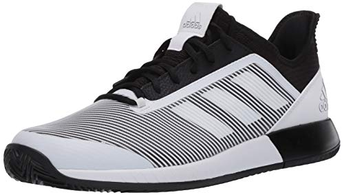 adidas Men's Defiant Bounce 2.0 Tennis Shoe, core Black/FTWR White/core Black, 9 M US