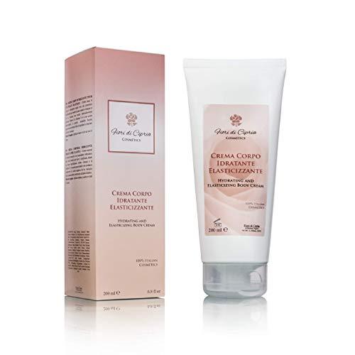 Crema Corpo Idratante Elasticizzante. DERMOCOSMETICO MADE IN ITALY - Rende la pelle Elastica e Tonica Rapido Assorbimento. Azione Antiossidante - 200 ml