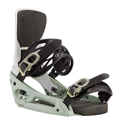 Burton Cartel X EST Snowboard Bindings - Large/Neo Mint-White