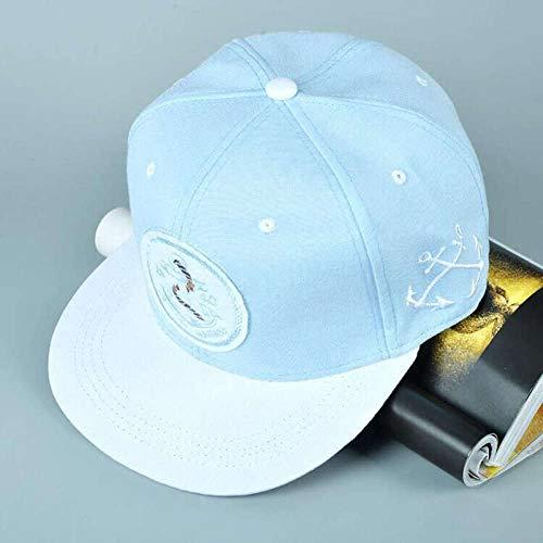 Axlgw Anker Patch Bone Snapback 1840 New York Harbor Hiphop Baseball Cap Fashion Casquette verstellbar Hut für Damen Herren Modell Farbe