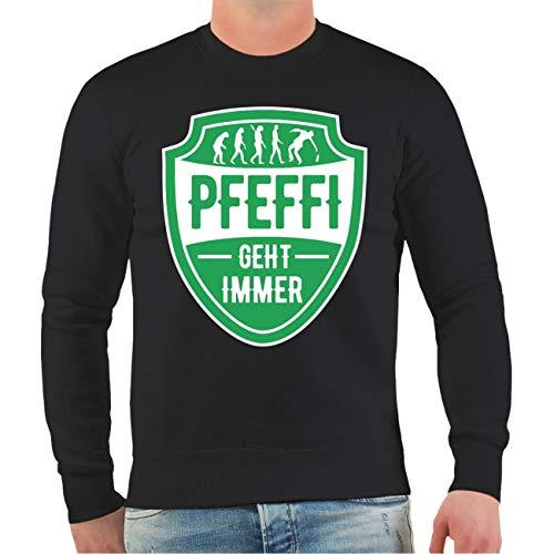Spaß kostet Männer und Herren Sweatshirt Alkohol Sprüche Pfefferminz geht Immer Größe S - 4XL