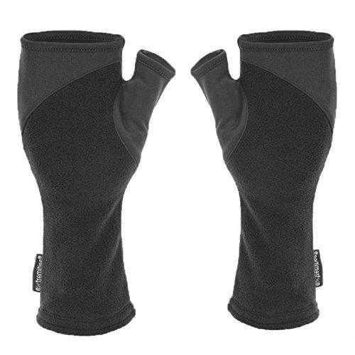 Extremities Gants Power Liner pour poignet unisexe, noir, taille XL