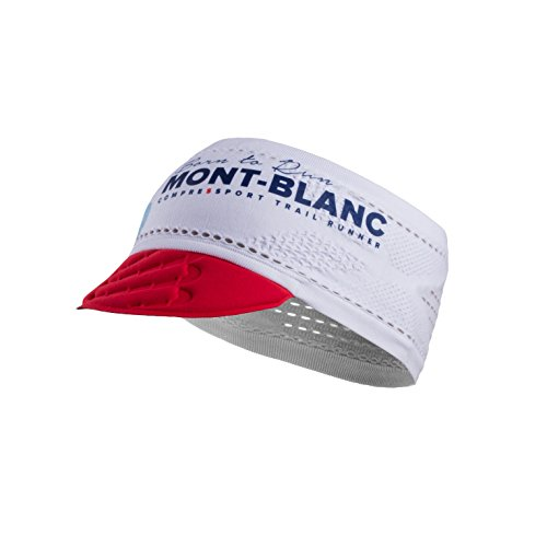 Compressport Trailrunning La Visiere On-Off - Mont Blanc 2017 Blanco