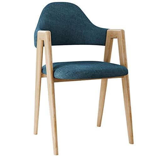 WH Home Restaurants stoel restaurant Scandinavische stijl moderne minimalistische bureaustoel computer stoel rugleuning