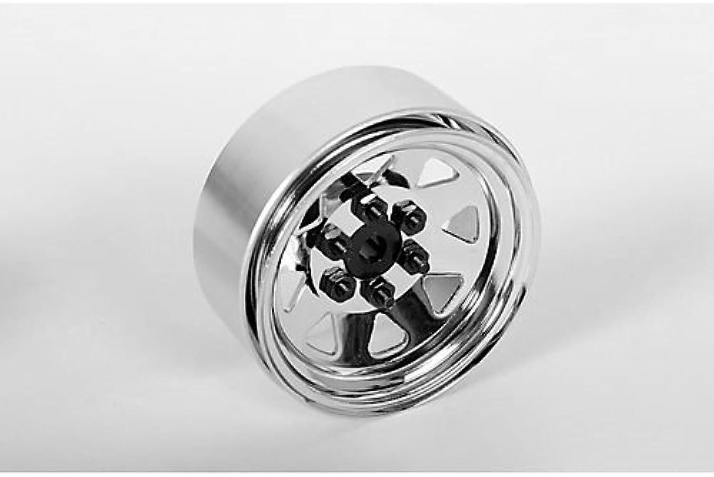 6 Lug Wagon 1.9 Steel Stamped Beadlock Wheels (Chrome) B00AVIU9HA Großartig    Vorzügliche Verarbeitung