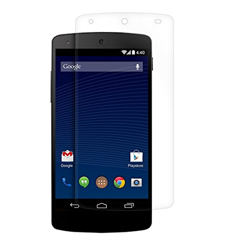 kwmobile Folie kompatibel mit LG Google Nexus 5 - klare Bildschirmschutzfolie Bildschirmschutz kristallklar Bildschirmfolie Schutzfolie