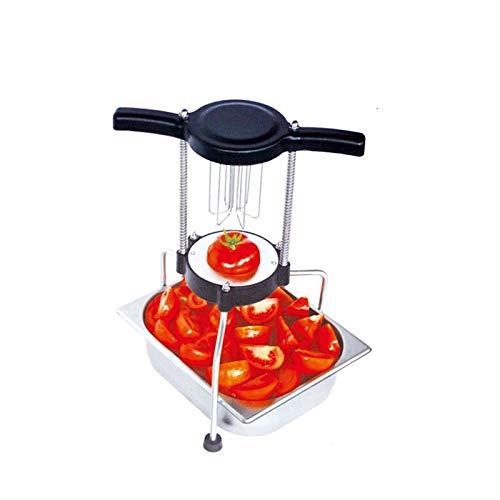 Commercial manuel Fruits Dicer Cutter Légumes hachoir machine Push Fruits Chop machine de coupe pour Apple/tomate/orange/en forme de poire CE certificat