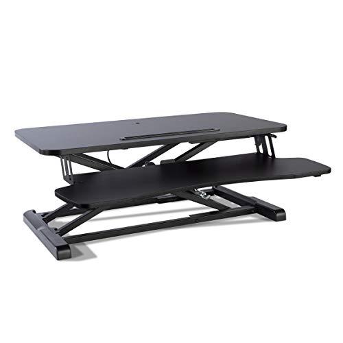 Atlantic Height Adjustable Standing Desk Converter - Gas Spring, Desktop Riser PN 33908129