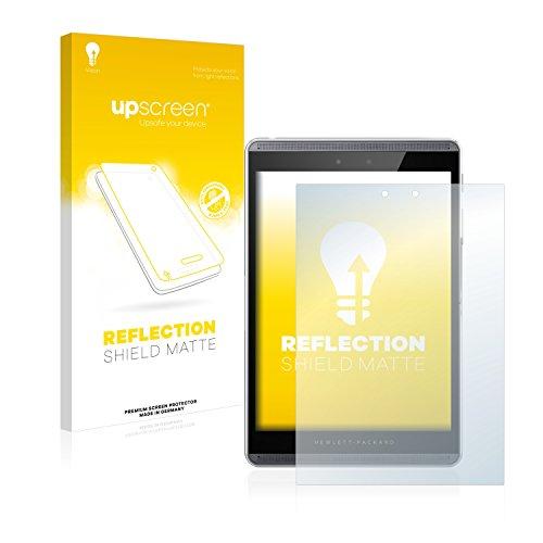 upscreen Entspiegelungs-Schutzfolie kompatibel mit HP Pro Slate 8 – Anti-Reflex Bildschirmschutz-Folie Matt