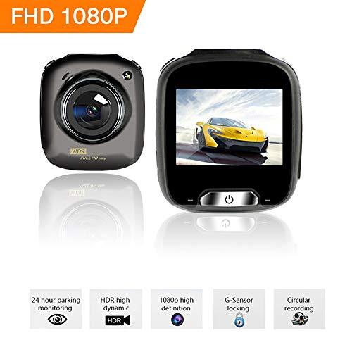 BQT Dash Cams 2,0 Pouces d'écran Full HD 1080P, avec caméra Grand Angle 170 °, Enregistrement de Boucle, détection de Mouvement et capteur G, caméra de Tableau de Bord pour Voiture