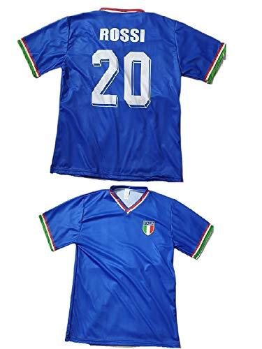 La maglia di Pablito Rossi campione del mondo nell'82