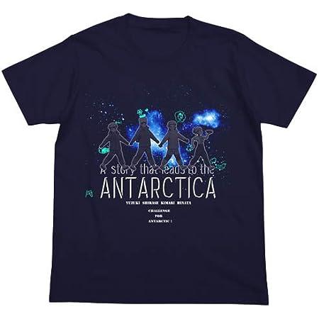宇宙よりも遠い場所 Tシャツ ネイビー Mサイズ