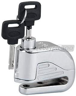 FidgetGear Safety Motorcycle Motorbike Disc Brake Lock Anti Thief Alarm Security & 2 Keys