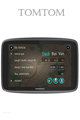 TomTom: Trucker 620 6-Inch Gps Navigation Device for Trucks with Wi-Fi Connectivity, Smartphone Services, Real Time Traffic And Maps of North America