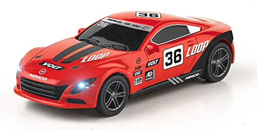 Ninco- Slot Car Red 1/43 Coche, Color variado (21501)