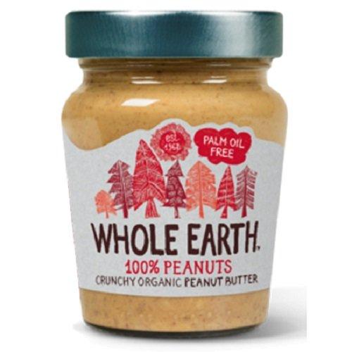 WHOLE EARTH(ホールアース)『オーガニック ピーナッツバター(クランチ)』