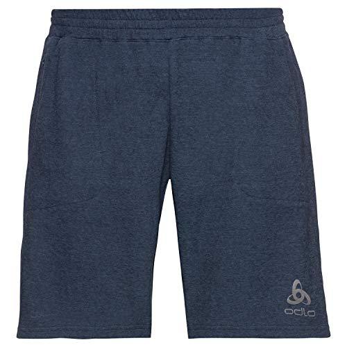 Odlo Millennium Linencool Pro Split Short pour Homme Bleu Blanc S Bleu