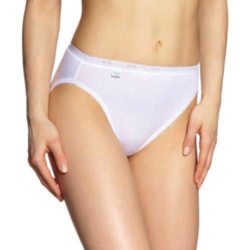 Sloggi Basic Tai 2P Braguita, Blanco 003, 42 para Mujer