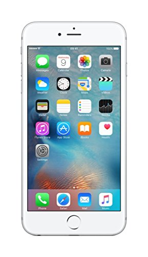 Apple iPhone 6s Plus 128GB - Silber - Entriegelte (Generalüberholt)