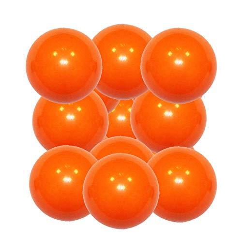 Manuel Gil Pack Bola futbolin superdura Naranja 36g Gramos 34mm 12 Unidades