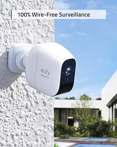 eufy Security, eufyCam E Wireless Home Security Camera System, 365-Day Battery Life, HD 1080p, IP65 Weatherproof, Night Vision, Compati   ble with Amazon Alexa, 3-Cam Kit, No Monthly Fee