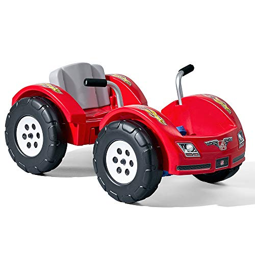 Step2 Zip N' Zoom Pedal Car | Kids Red Ride On Toy | Adjustable Grow-with-Me Seat