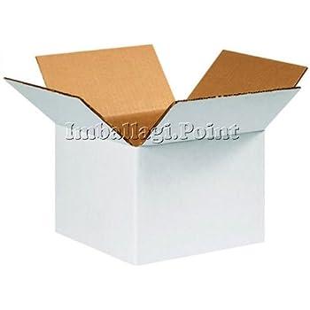 5 piezas Cajas cartón doble capa ultra resistentes 50 x 30 x 30 cm ...