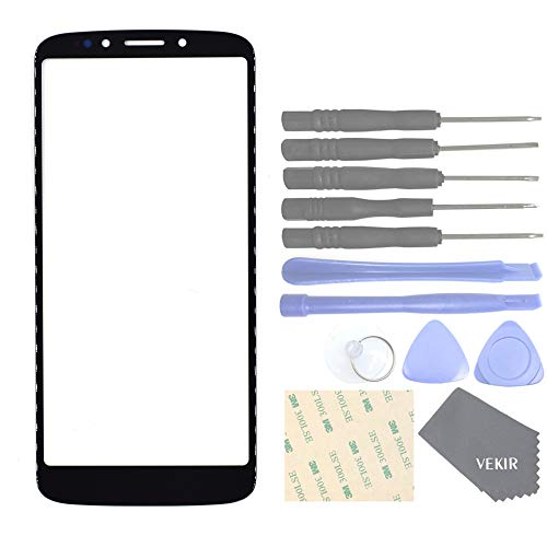 VEKIR Cell Phones Replacement Parts for Motorola Moto G6 Play(Black)