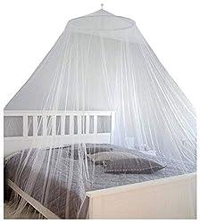 AMANKA XXL mosquito net 2,5 x 12 m double mosquito net travel bed sky white
