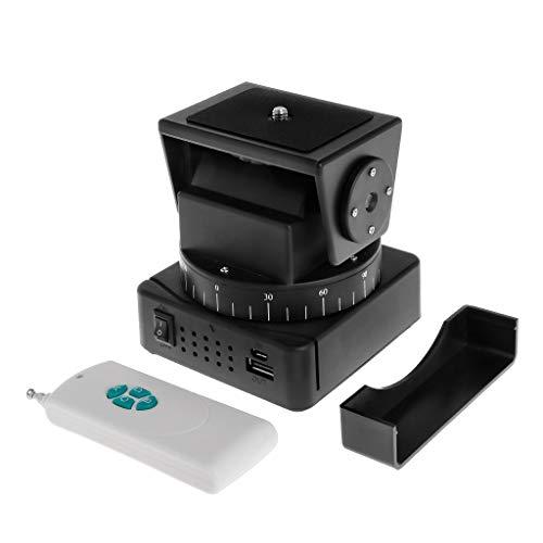 BMBN Inclinaison panoramique et inclinaison à distance YT-260 motorisée automatique trépied adaptateur caméra Extreme WiFi Smartphone