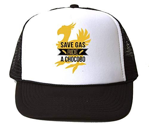 Save Gas Ride A Chocobo Baseball Cap Unisex Mütze Kappe Hat One Size