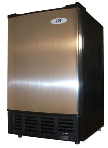 UNDERCOUNTER ICE MAKER STAINLESS STEEL DOOR