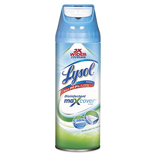 LYSOL Max Cover Disinfectant Mist, Garden After Rain, 12 1/2 Oz Aerosol